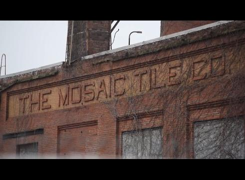 Tim Smith talks about the abandoned Mosiac Tile property on Pershing Road in Zanesville.
