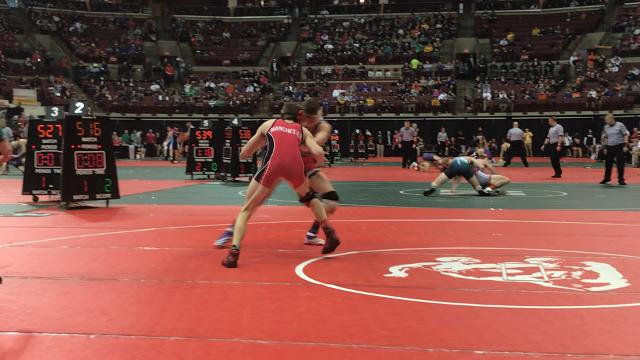 Crestview's Clay Eagle finishes off 2-1 win to reach state semis