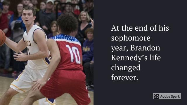 Since the end of the sophomore season, Unioto's Brandon Kennedy has been forced to deal with Type 1 Diabetes.