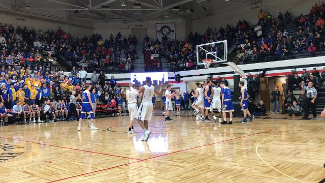 The Spartans move in to the Elite Eight for the third consecutive year after defeating East Canton 68-56 on Tuesday night.