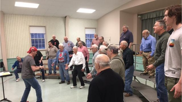 Fun Center Chordsmen will hold its spring concert at 3 p.m. March 24 at Lexington High School, 103 Clever Lane, Lexington.  Mansfield Firefighter Dan Crow is a member of the group.
