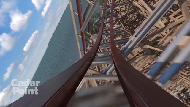 Cedar Point's new record-breaking hyper-hybrid roller coaster, Steel Vengeance, opens this year.