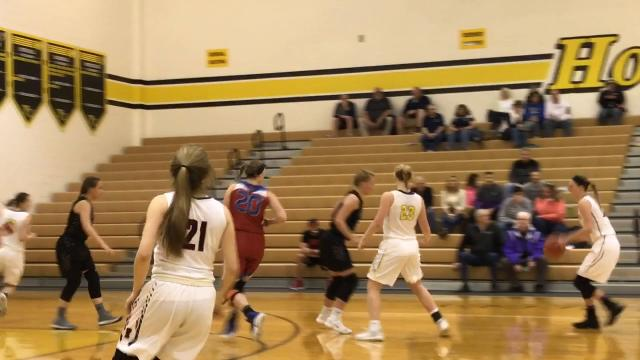 Muskingum Valley girls pull away from Licking County