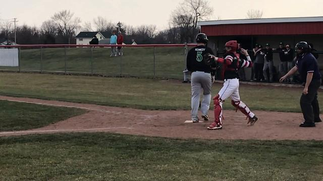 Footage from McAtee's start Wednesday against Margaretta.