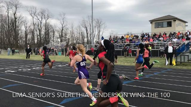 Some 60 schools and 600 athletes take part in the storied track and field meet