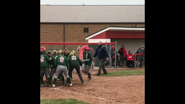 Footage from Oak Harbor's victory Wednesday.