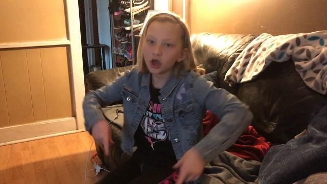 Katie Walser of Warsaw has a YouTube channel with more than 1,300 subscribers. Videos show her dealing with cerebral palsy and making slime among other things.