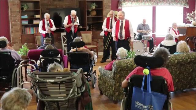 Dozens of local seniors had pep in their step as they laughed and grooved along with the Elders of Jazz this past weekend.