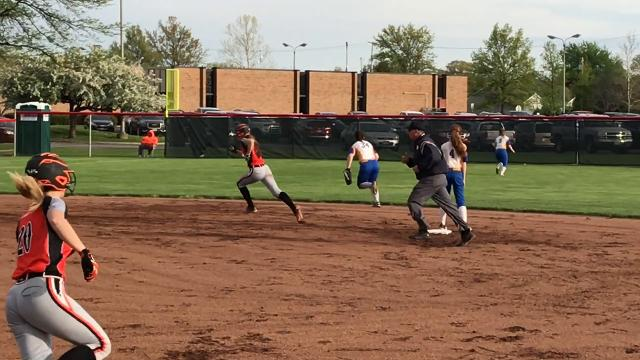 Footage from Gibsonburg's district semifinal win Tuesday.