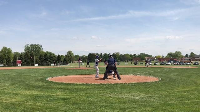 Highlights of Wynford's 6-5 win over Galion in the district semifinal at Shelby High School on May 17, 2018.