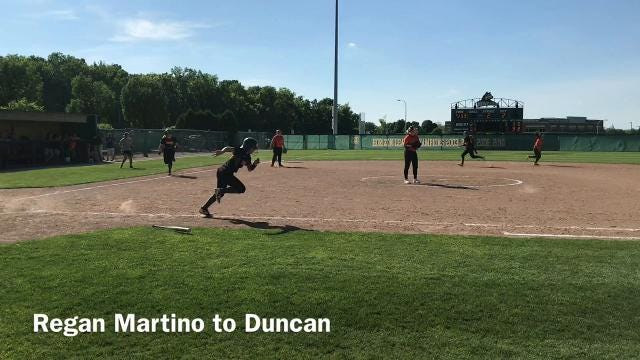 North Union beat West Liberty-Salem 5-1 in Wednesday's Division III regional semifinal softball game at Wright State. The Lady Cats return to WSU Saturday at noon to face Williamsburg.