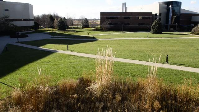 Andrew Shella, professor at Terra State Community College, is concerned about how close Terra State's finances and how close the college is to fiscal watch by the state of Ohio.