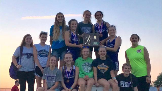 Mount Gilead' girls won a team championship at the Division III regional meet at Fairfield Union Friday night, and it was its third in four years. The MG boys were third as a team.
