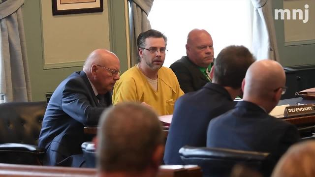 Shawn Grate speaks before being sentenced to die by lethal injection.