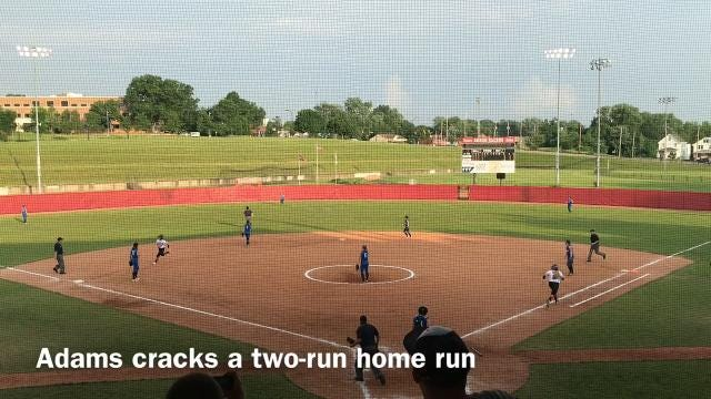 Cardington knocked off Buckeye Trail 10-0 in five innings during a Division III state softball semifinal at Akron's Firestone Stadium.