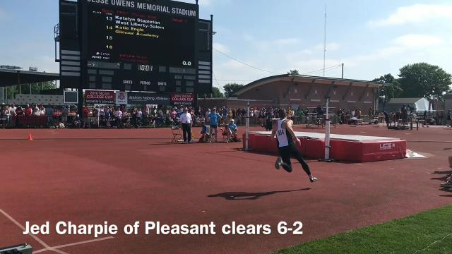 Here is how some area track competitors fared at the state track and field championships in Ohio State's Jesse Owens Memorial Stadium.