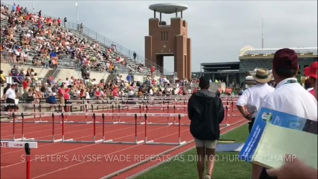 The area's state track champs in action