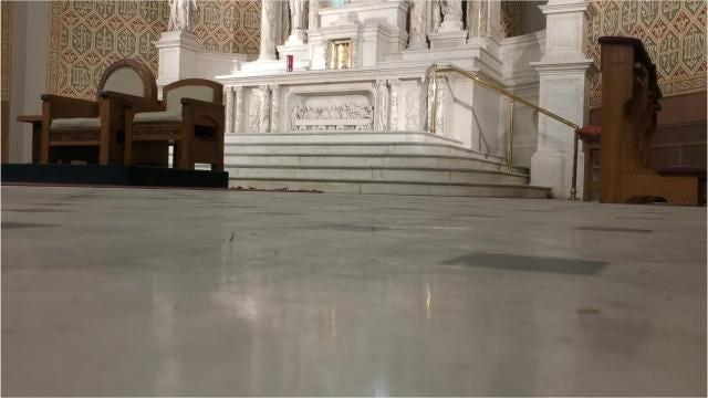 St. Peter's Church renovations