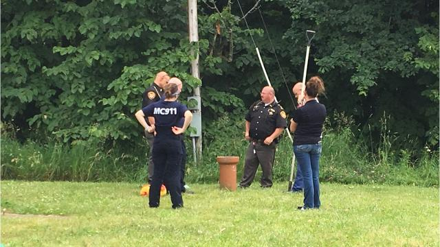 VIDEO: Johnsville boy safe after stuck in pipe