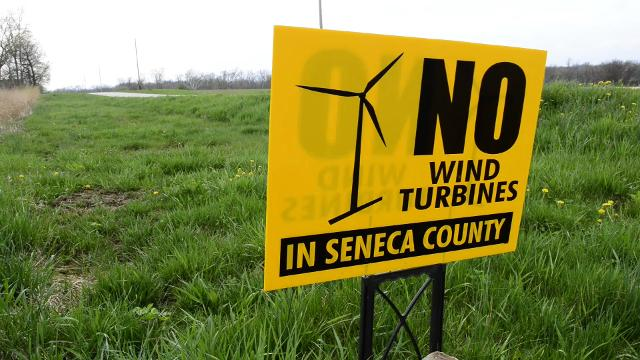 Rural residents speak out against APEX Clear Energy's proposal to install roughly 80 turbines in Seneca and Sandusky counties combined with turbine structure heights ranging from 442 to 591 feet.