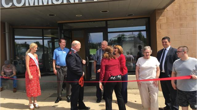 The Mansfield Salvation Army Monday celebrated the completion of its more than $450,000 remodel and the re-opening of its feeding program which is held the last week of each month.