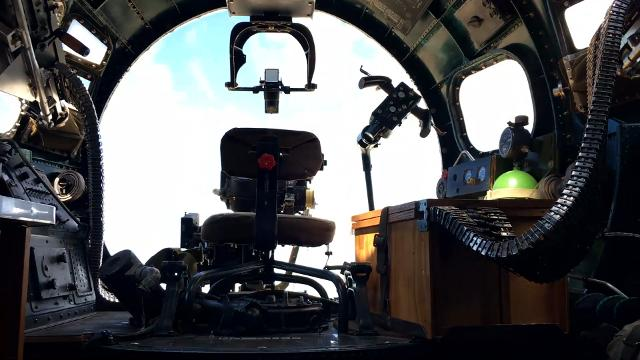 The Yankee Lady, a WWII-era bomber plane, spent Saturday in Port Clinton offering the public tours and rides. As a Boeing B-17 Flying Fortress, the four-engine heavy bomber aircraft is a design primarily used during World War II