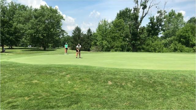 Mount Gilead's Mallory Graham competed for the second time at the Ohio Junior Girls Championship at Marion Country Club.