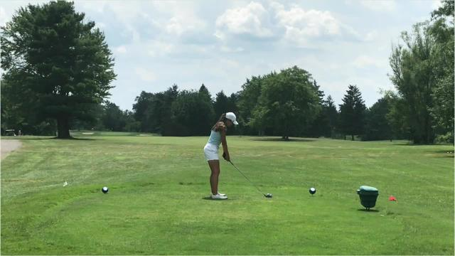 Leila Raines used two playoff holes to edge Emily Hummer to win the 42nd annual Ohio Junior Girls Championship at Marion Country Club.