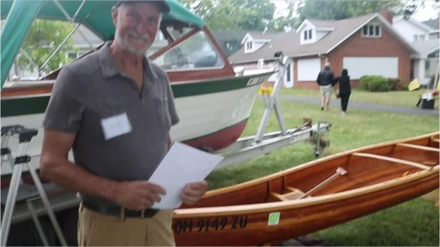 The 15th Annual Lakeside Wooden Boat Show hosted more than 80 classical wooden boats ranging from 7 feet to well over 50 feet on the lawn of Hotel Lakeside overlooking what was a very choppy Lake Erie.