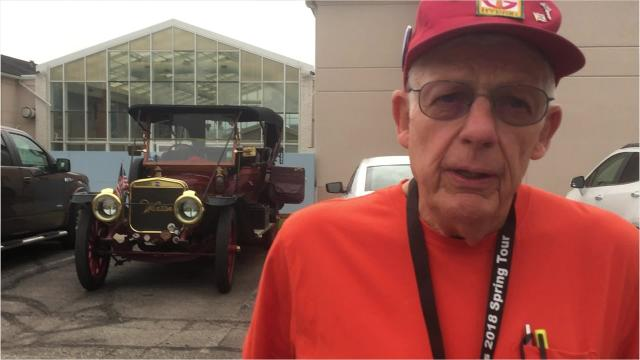 The Midwest Brass & Gas Car Club is touring about Richland County and central Ohio this week. Honk or wave, members said they like it.