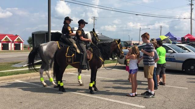 Nearly all of Richland County's law enforcement agencies gathered Tuesday for the third annual Richland County Law Enforcement Appreciation Day.