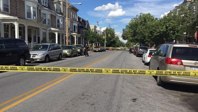 Report from the scene of York shooting