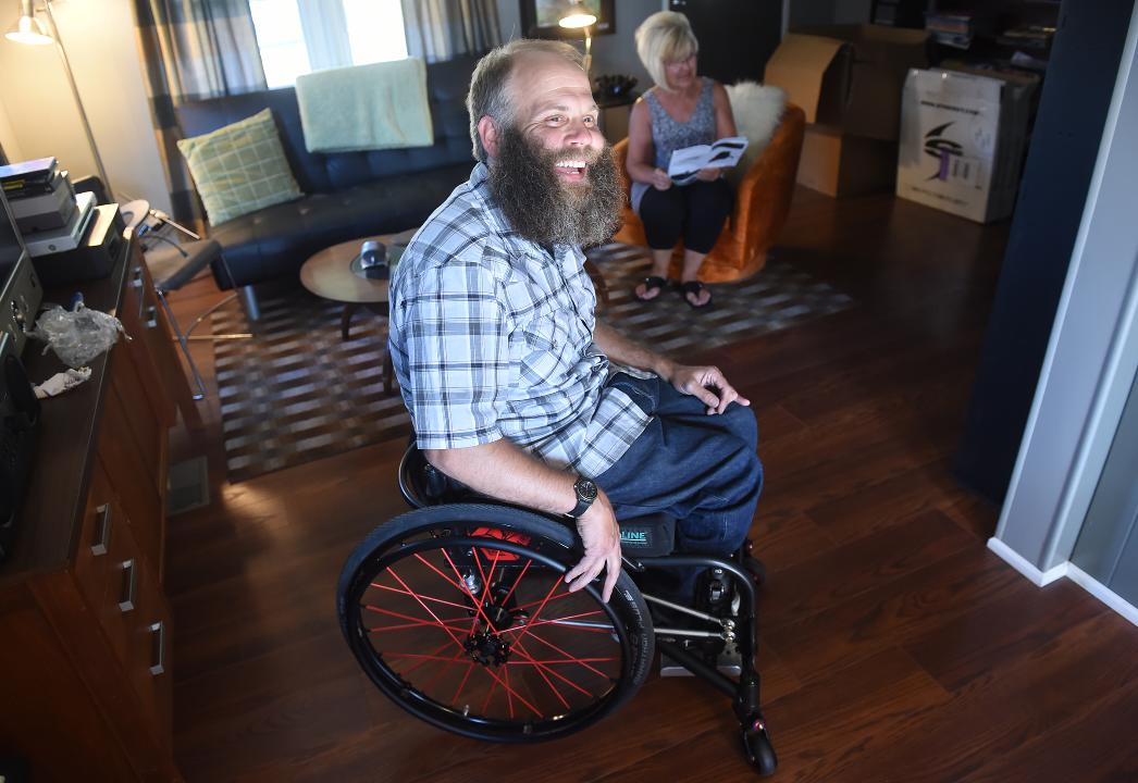 York-area Lowe's employee gets new wheelchair after community helps