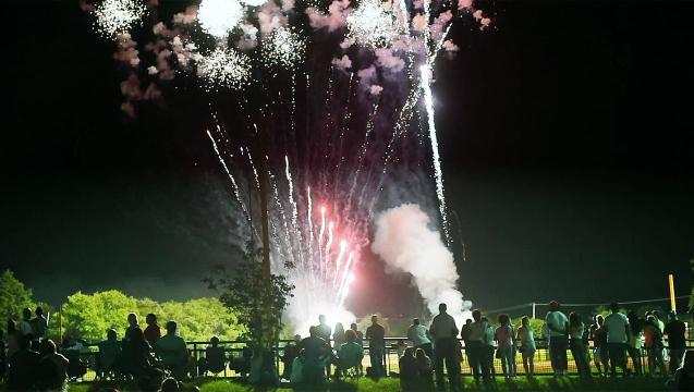 Fireworks in Springettsbury Township