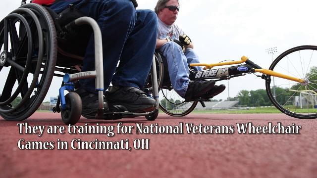 Local veterans prepare for National Veterans Wheelchair Games