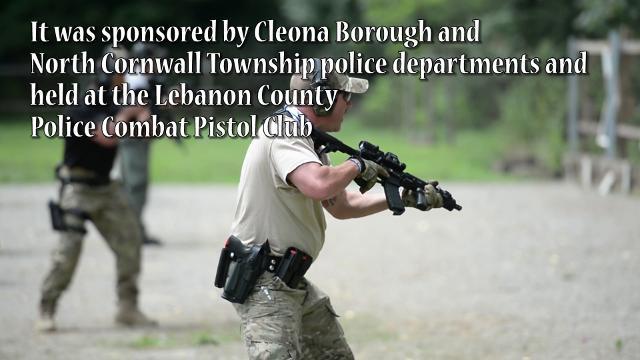 Law enforcement from across Pennsylvania train in Lebanon County