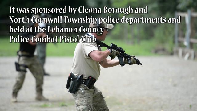 Law enforcement from across Pennsylvania train in Lebanon County