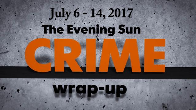 Watch: Crime-wrap up for July 6 - 14