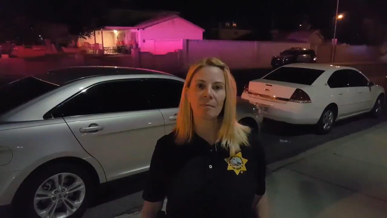 In this video from Las Vegas Metro Police Department, Capt. Kelly McMahill details the department's eighth officer-involved shooting of 2017. McMahill said the department regularly puts out videos like this in order to inform the public.