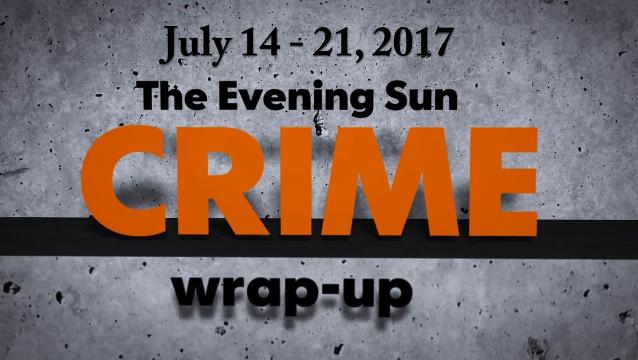 Watch: Crime-wrap up for July 14 - 21