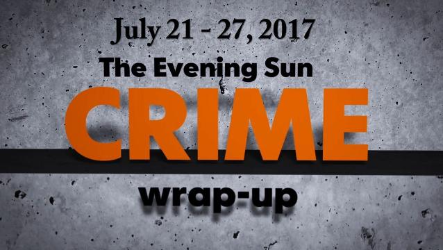 Watch: Crime-wrap up for July 21 - July 27