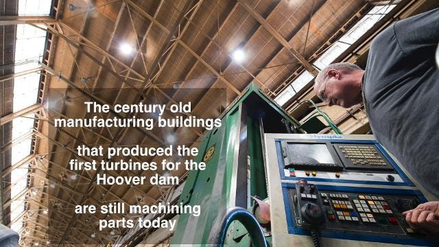 Over 100 years of manufacturing history at York's PCC