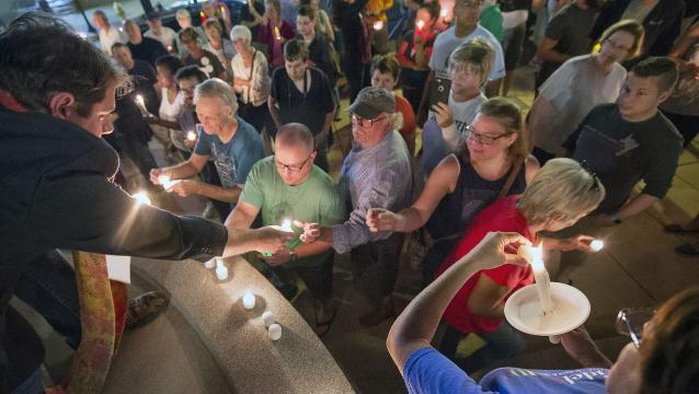 Watch: York County stands in solidarity with Charlottesville