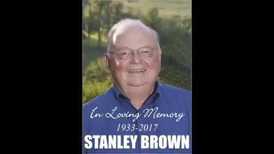 Here's how Stan Brown was honored at his funeral