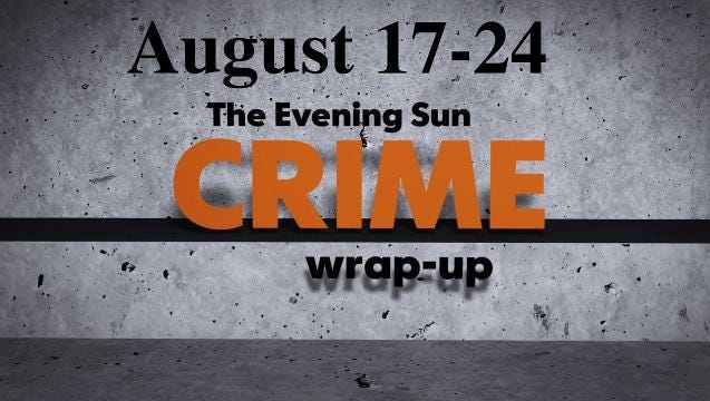 Watch: Crime wrap-up for Aug. 17-24