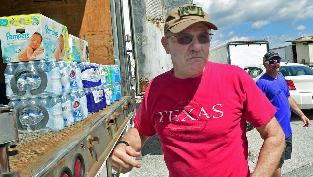 Local companies take donations to help Texas flood victims