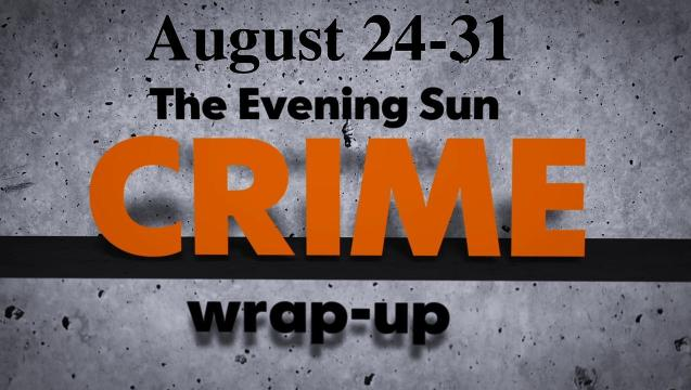 Watch: Crime wrap-up for August 24-31