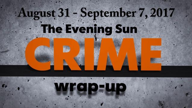 Watch: Crime-wrap up for August 31 - September 7