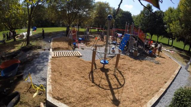 How to build a playground in 23 seconds