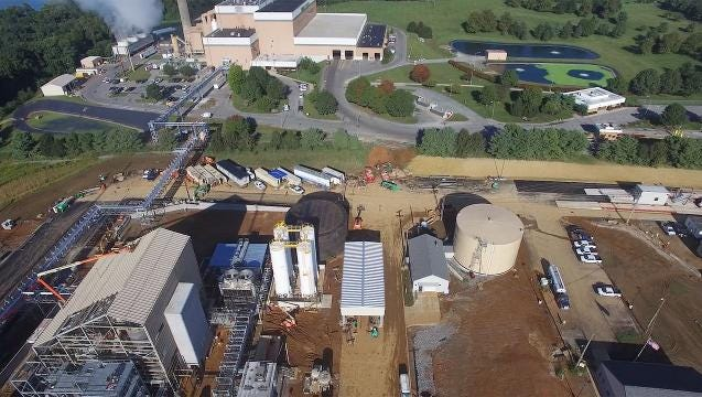 Take a tour by air of the new Perdue soybean processing facility
